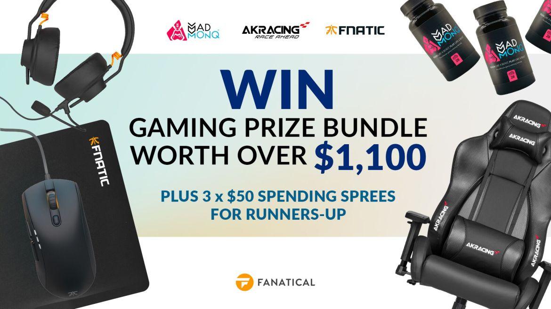 gaming prizes