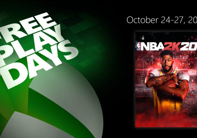 Xbox Free Play Days for NBA 2K20