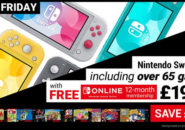 Switch Lite + Free NSO