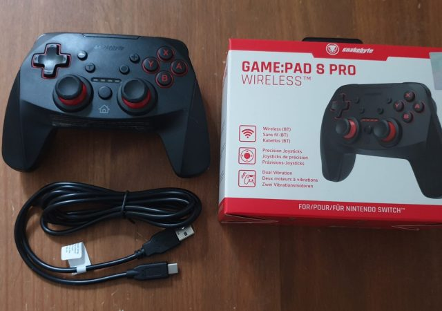 Snakebyte Game:Pad S Pro Wireless Controller