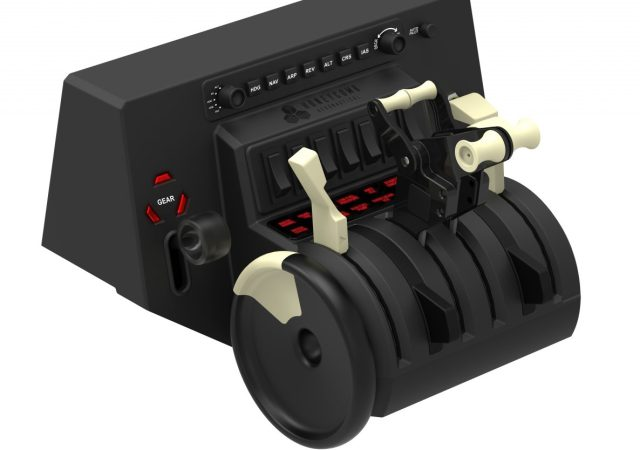 Alpha Switch Controls Yoke & Switch Panel