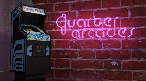 Bubble Bubble Quarter Arcades