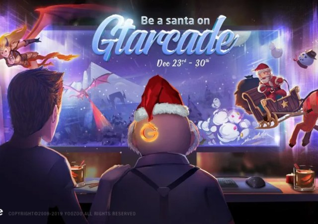be the santa gtarcade