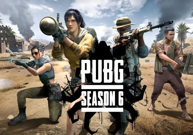 PUBG season 6