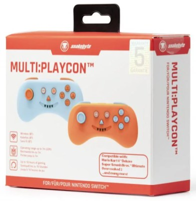 SB915055 snakebyte NSW MULTIPLAYCON (BLUE and ORANGE) Packaging 02