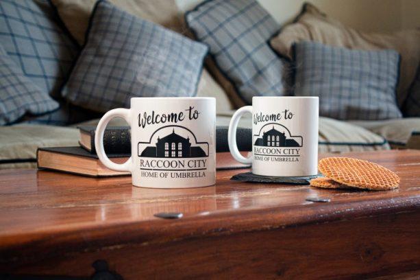 Welcome-to-Raccoon-City-Both-Mugs-Coffee-Table