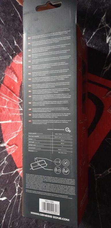 Genesis Boron 500 XXL RGB Mouse Mat
