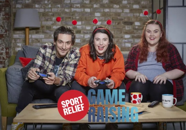 sport relief game raising