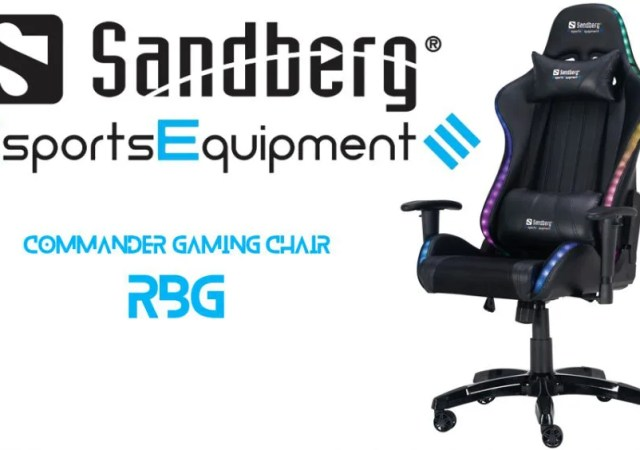 commander gaming chair rgb