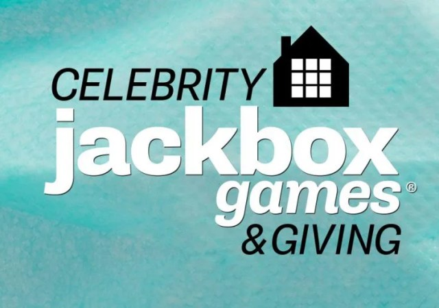 Celebrity Jackbox: Games & Giving