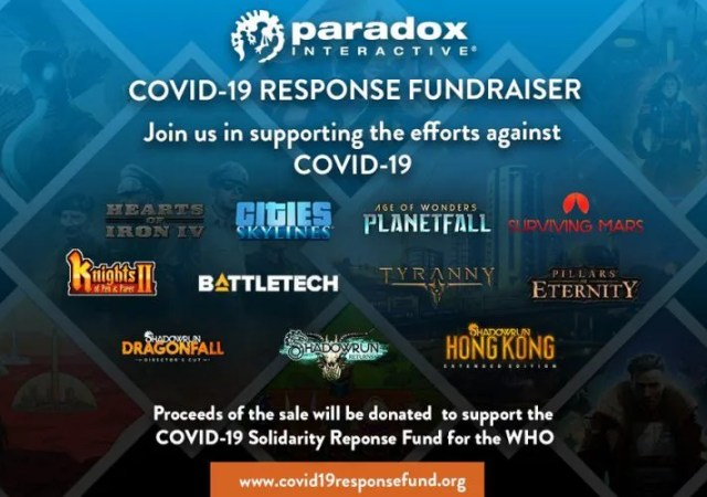 Paradox Interactive steam COVID 19