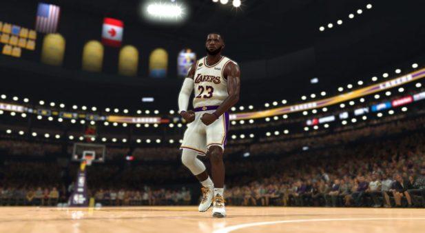 NBA2K MyPlayer Nation GE - LeBron 17 'Bron 2K Playoffs' - NBA2K20 Flex