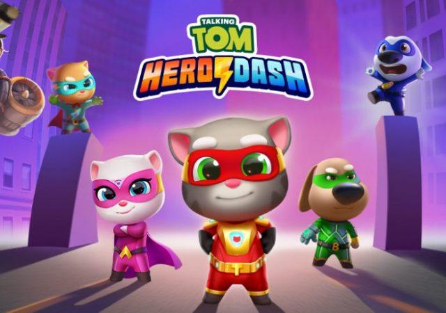 Talking Tom Hero Dash