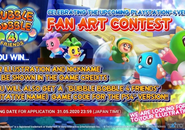 Bubble-Bobble-4-Friends_Fan Art Contest