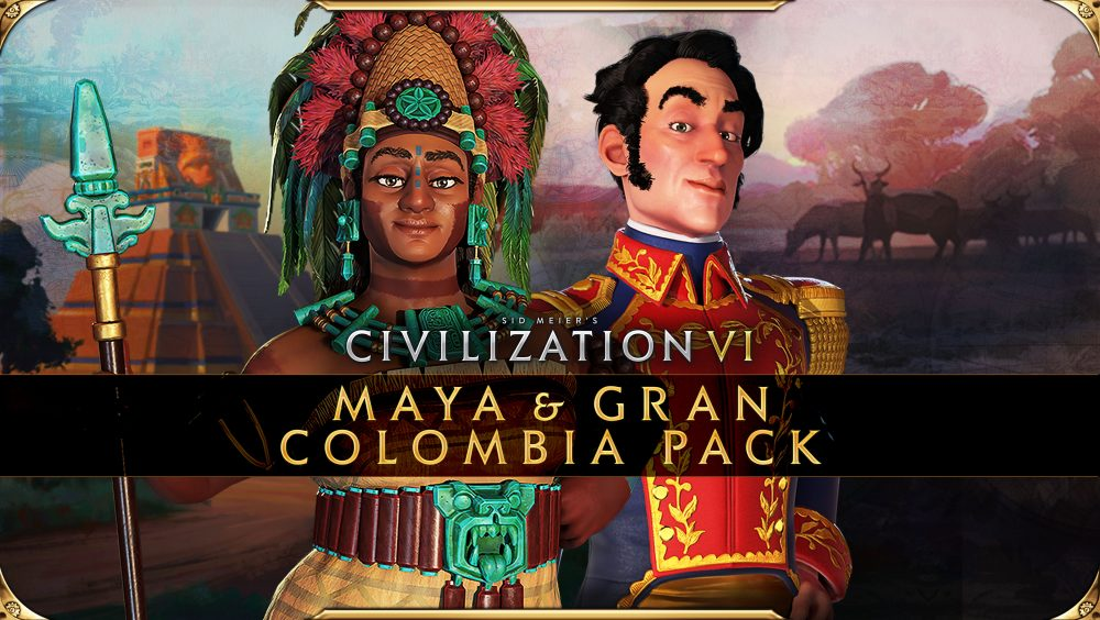 Civilization VI - New Frontier Pass - Maya & Gran Colombia Pack - Key Art