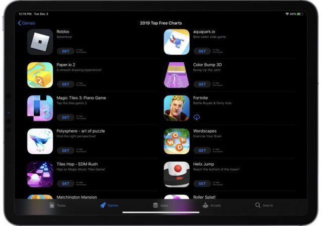 Gaming App Downloads