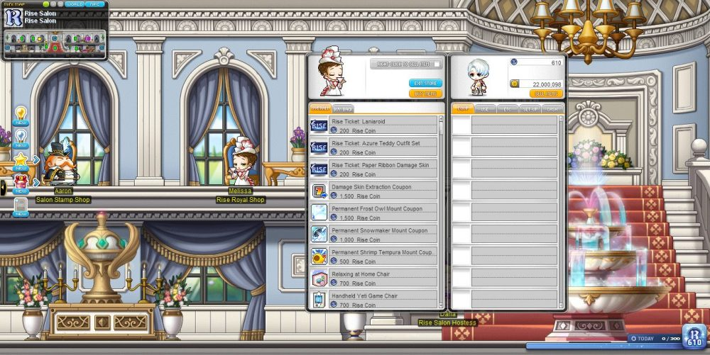 [MapleStory] Rise_ Promise of the Guardian_Royal Shop