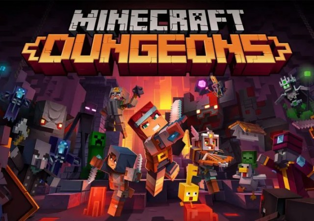 minecraft dungeons