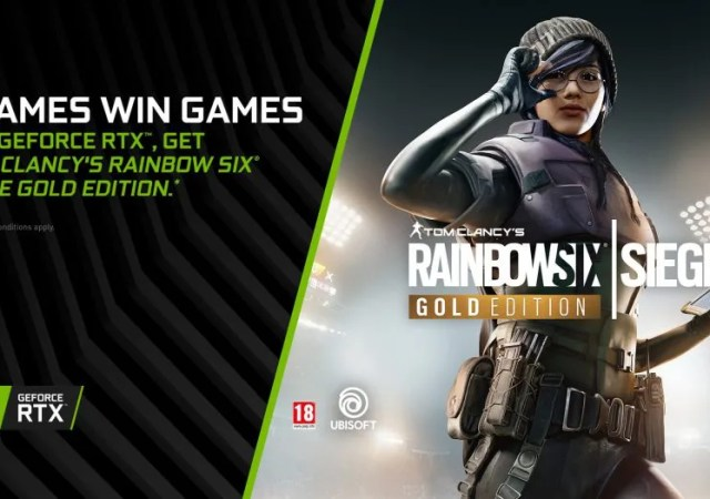 Tom Clancy's Rainbow Six Siege' bundled