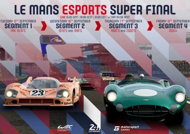 Le Mans Esports Series 2020
