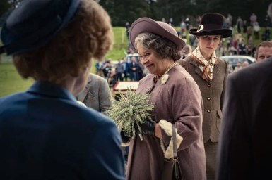 Picture shows: Queen Mother (MARION BAILEY)