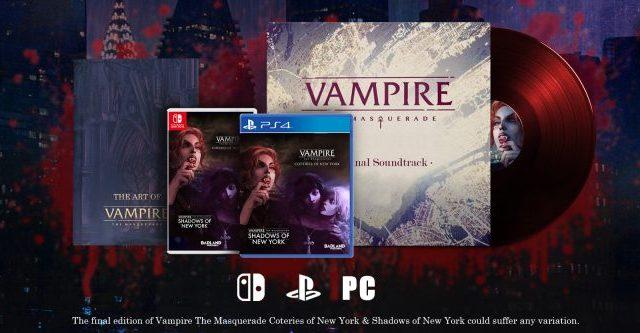 Vampire The Masquerade and Shadows of New York