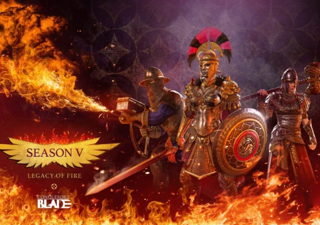 Conqueror's Blade Season V Legacy of Fire
