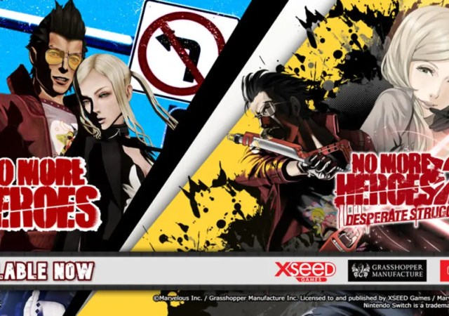 No More Heroes and No More Heroes 2 Desperate Struggle
