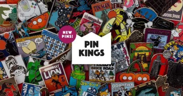 Numskull Pin Kings Collection