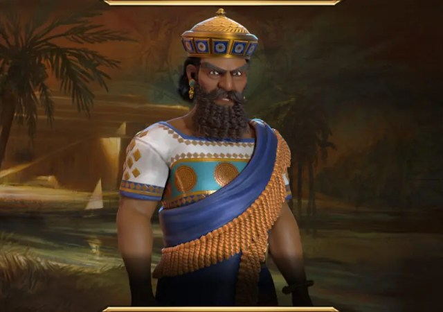 Civilization VI - New Frontier Pass - Hammurabi Leader Art