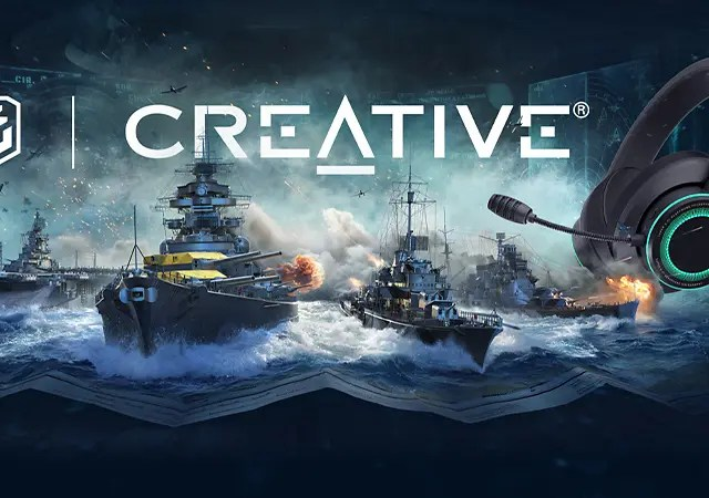 World of Warships X Creative Labs