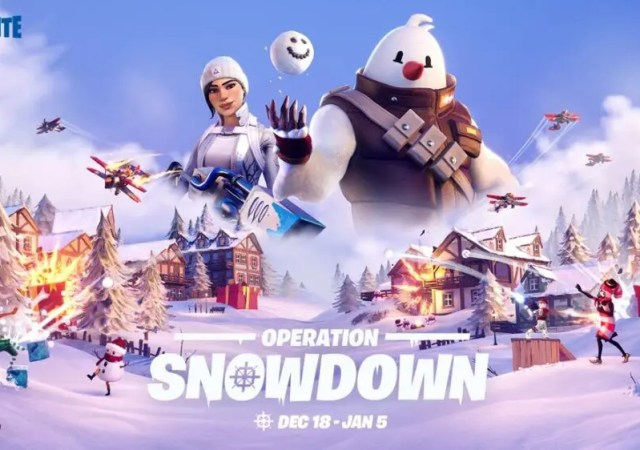 fortnite operation snowdown