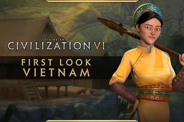 Civilization VI – New Frontier Pass First Look at Bà Triệu of Vietnam