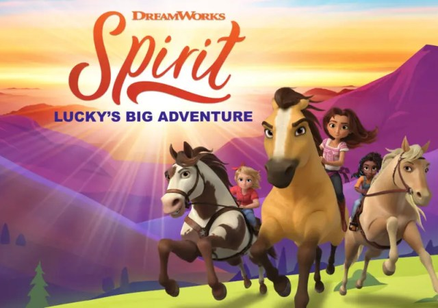 Spirit Lucky's Big Adventure