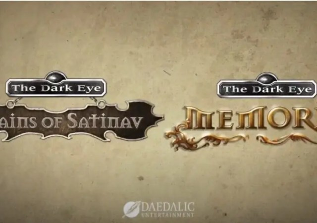 The Dark Eye classic adventures Chains of Satinav and Memoria