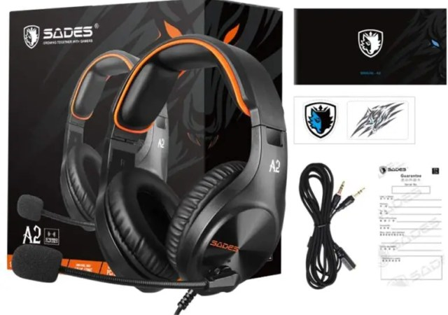 SADES NEW A2 HEADSET