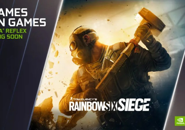 Rainbow Six Siege' Players Test NVIDIA Reflex
