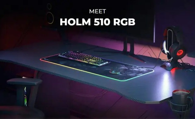 Holm 510 RGB Gaming Desk