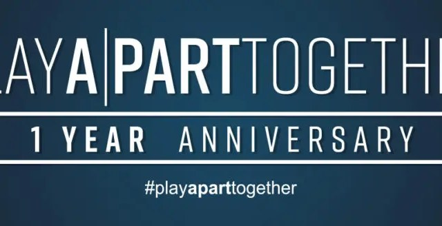 #PlayApartTogether