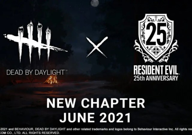 Resident Evil is coming to Dead by Daylight in June
