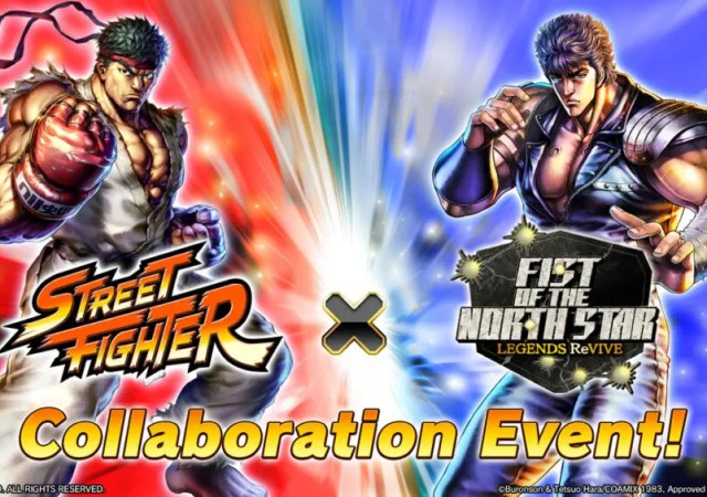 Street Fighter X Fist of the North Star Legends ReVive Collaboration
