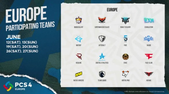 PCS4_Europe_Teams_and_Schedule