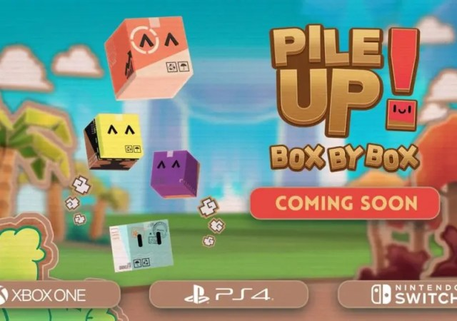 Pile Up! Box by Box Heads to Consoles
