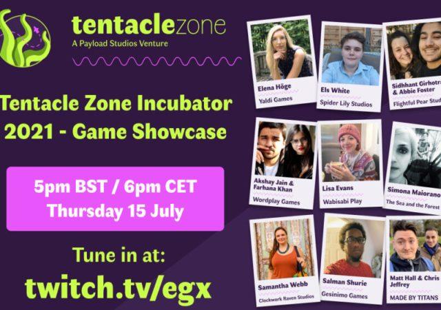 Tentacle Zone Incubator 2021 Showcase