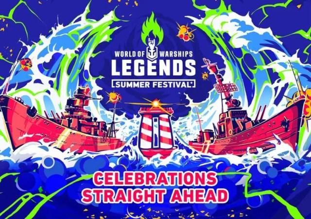 World of Warships Legends Summer Anniversary Festival