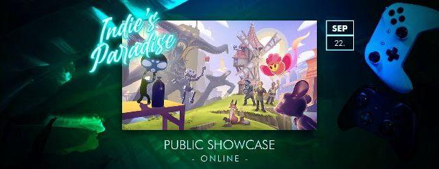 Indie's Paradise Public Showcase