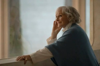 """Glenn Close in """"Swan Song,"""" coming soon to Apple TV+. Courtesy of Apple"""