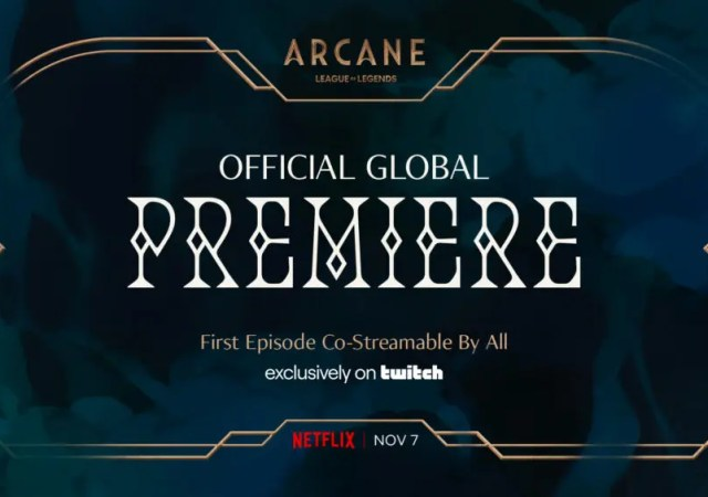 Arcane Global Premiere Logo