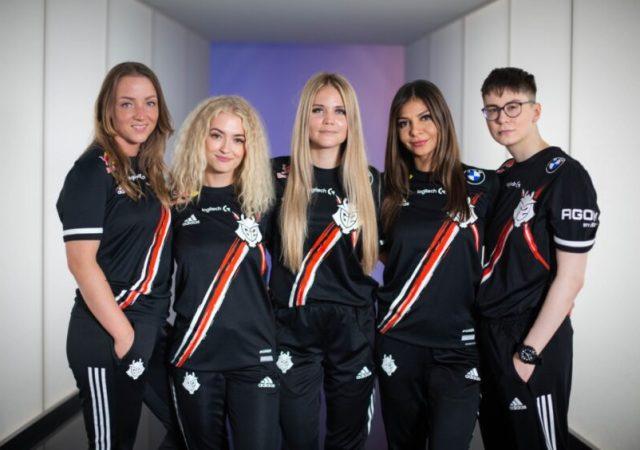 G2 Esports announces its first ever all-female team