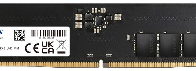 ADATA Launches DDR5-4800 Memory Module